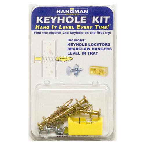 Hangman Products Keyhole Hanger Kit Hangman Products